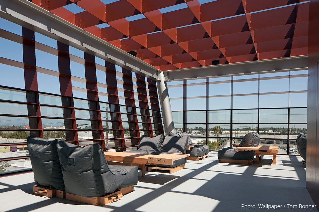 Evolution Sofas in Vespertine Restaurant Rooftop