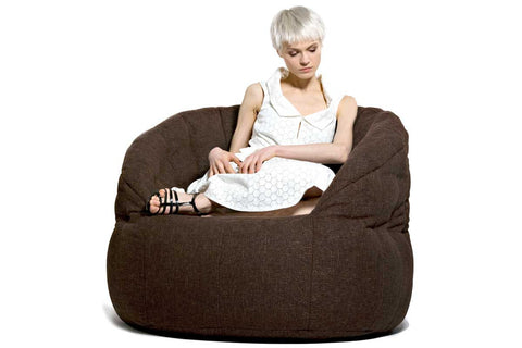 Butterfly Sofa Bean Bag In Hot Chocolate (Indoor)