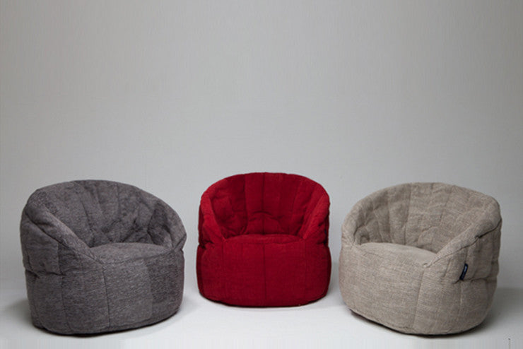 Red bean bag armchair butterfly sofa bean bag singapore butterfly sofa bean bag in wildberry deluxe indoor solutioingenieria Image collections