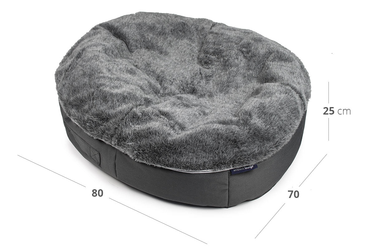 Pet Lounge Dog Bed - Medium (In/Outdoor) Dimensions