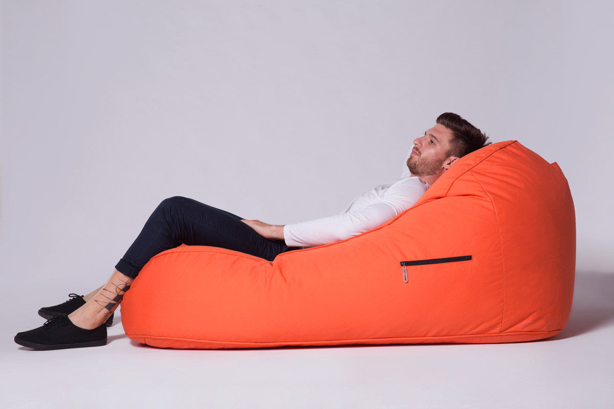 Satellite Twin Sofa Bean Bag In Desert Sunset Outdoor