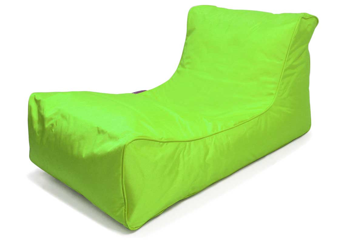 Lounger Bean Bag Chair neon green outdoor bean bag lounger | beanbag lounge chair