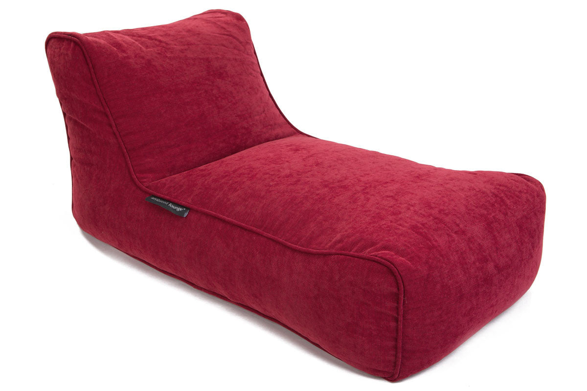 Studio Lounger Bean Bag in Wildberry Deluxe (Indoor)  sc 1 st  Ambient Lounge Singapore : bean bag chaise lounge - Sectionals, Sofas & Couches