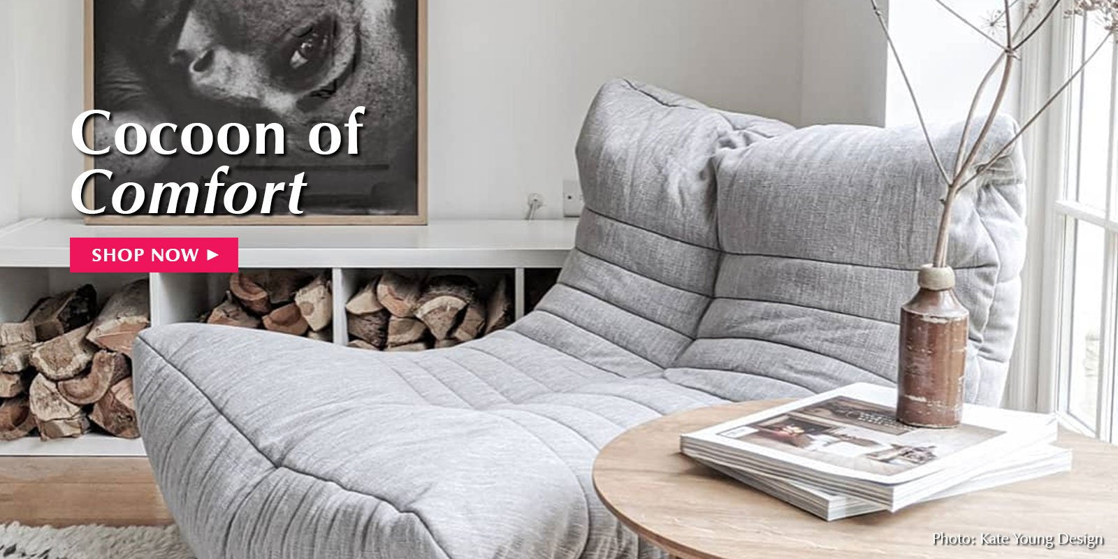 Ambient Lounge bean bag sofas in Russia.
