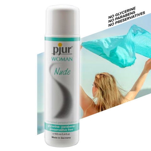 Your Definitive Guide to Personal Lubricants Pjur Nude 100ml Display