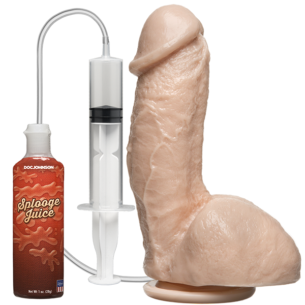 Doc Johnson Squirt The Realistic Dildo Flesh