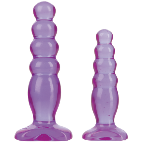 Doc Johnson Crystal Jellies Anal Trainer Kit- VAT3