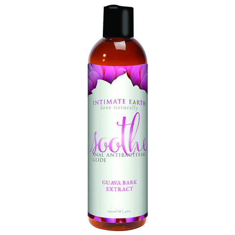 Intimate Earth Soothe Anal Lube Anti-Bacterial 120ml