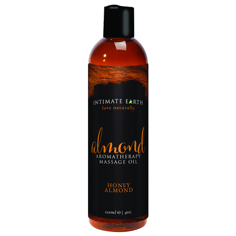 Intimate Earth Honey Almond Massage Oil