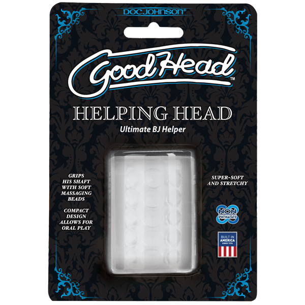 Doc Johnson GoodHead - Helping Head- VAT