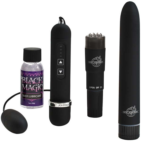 Doc Johnson Black Magic Pleasure Kit- VAT1