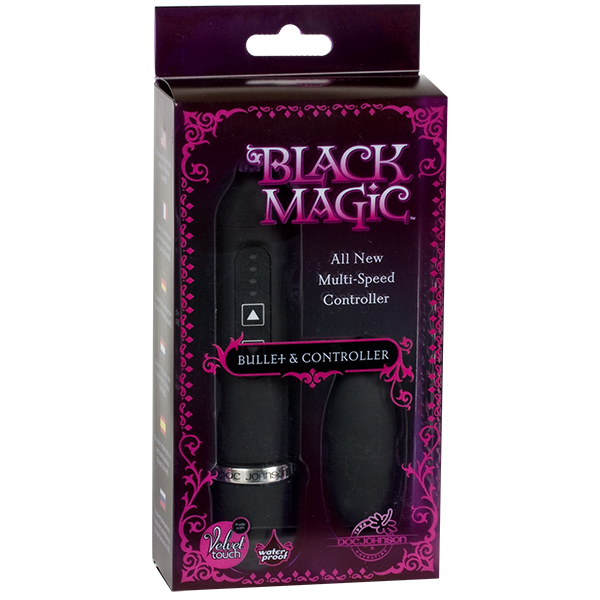 Doc Johnson Black Magic Bullet and Controller- VAT