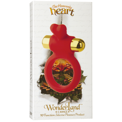 Doc Johnson Wonderland C-Ring: The Heavenly Heart- VAT