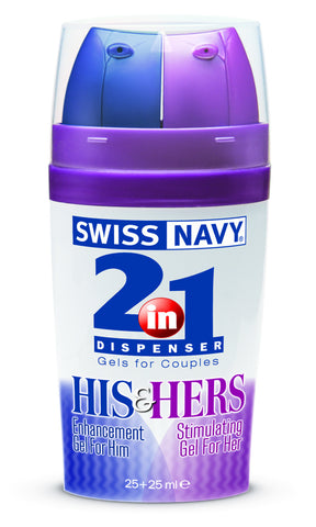 Swiss Navy His and Her 2 in 1 Sexual Stimulant 25ml