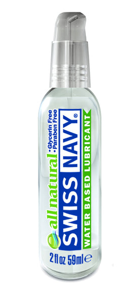 Swiss Navy All Natural Water Based Lube 2oz/59ml
