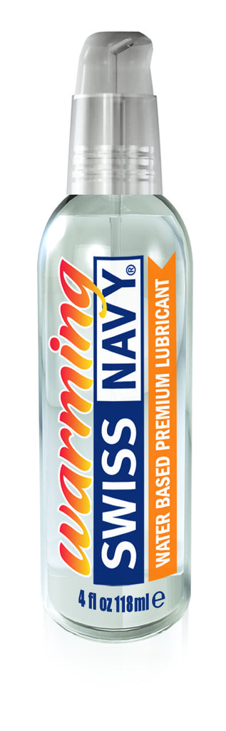 Swiss Navy Warming Lube Water Based Lube 4oz/118ml