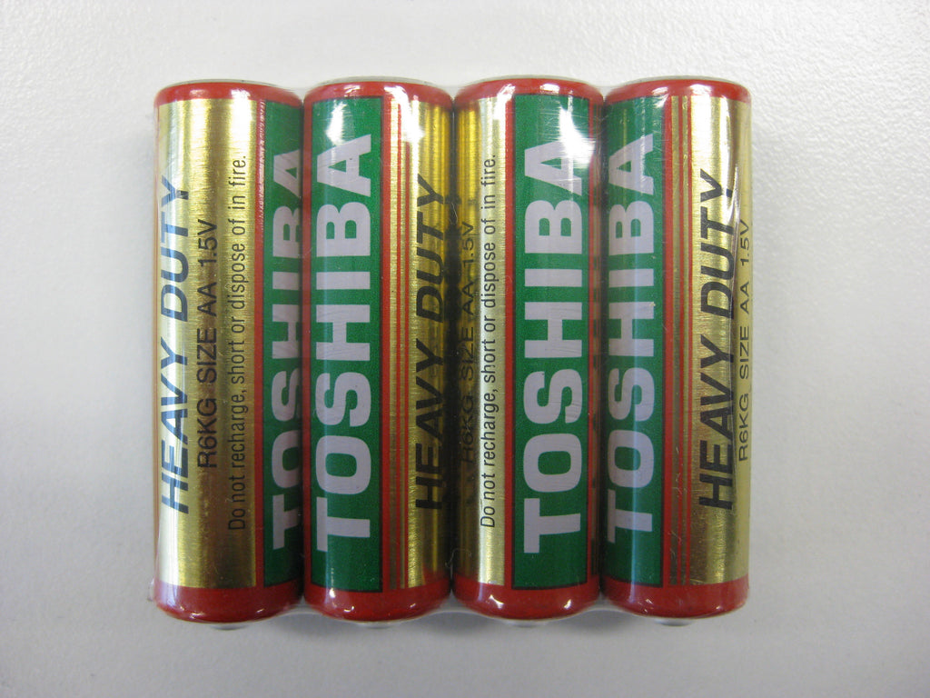Toshiba Heavy Duty AA Shrink 10x4Pk Battery