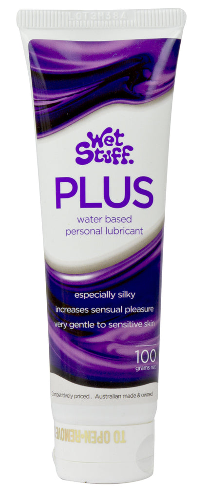 Wet Stuff Plus Water Based Lube 100g