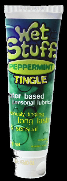 Wet Stuff Peppermint Flavor Water Based Lube 100g