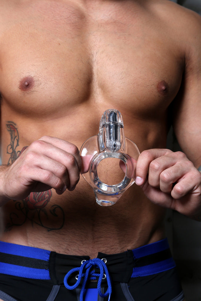 PerfectFit Cock Armour Buzz Cock Ring Clear VAT5