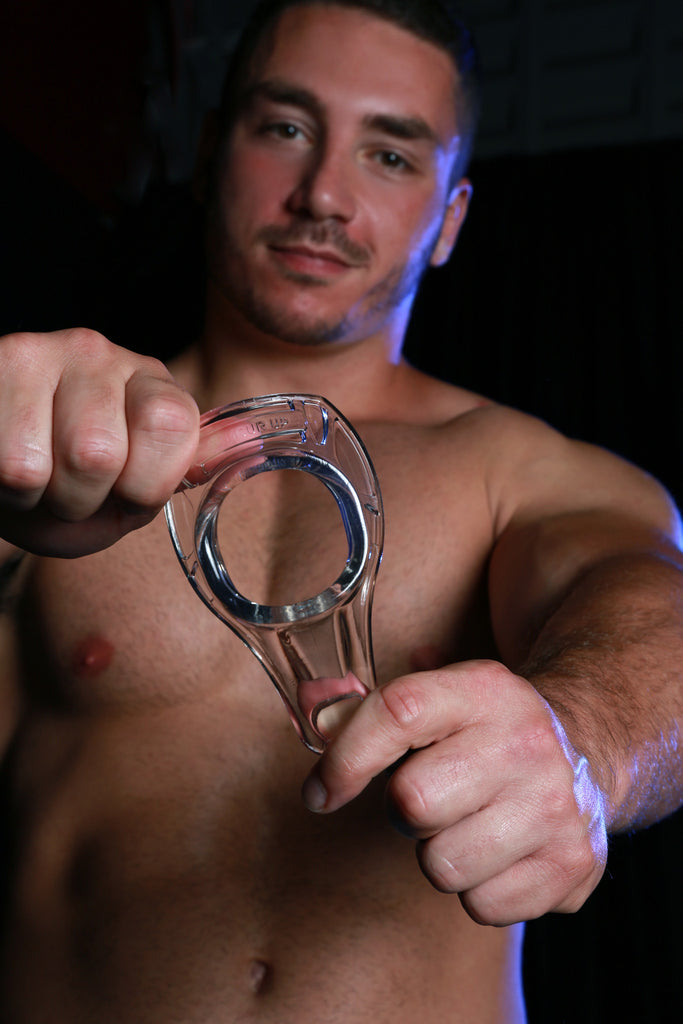 PerfectFit Armour Up Sport Cock Ring Black VAT3