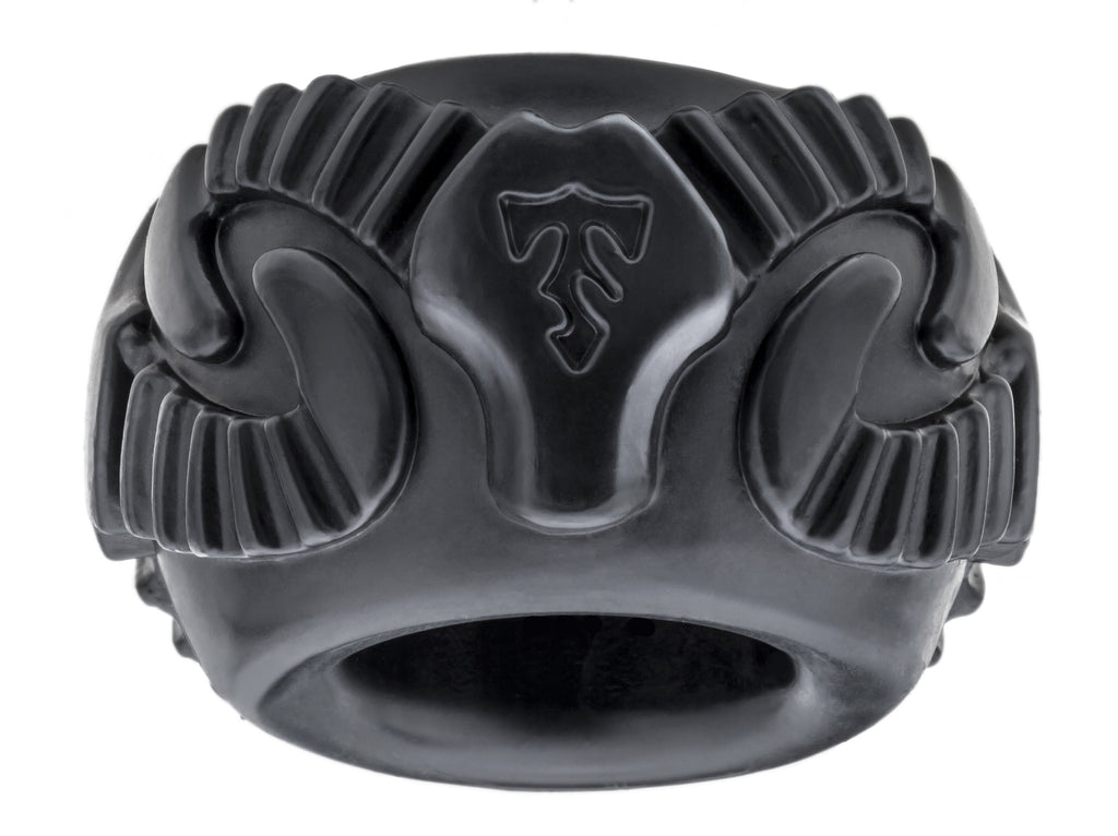 PerfectFit Tribal Son Ram Cock Ring Black VAT1