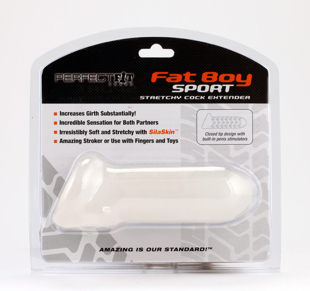 PerfectFit Fat Boy Extender Sport 6.5in Penis Extension Clear