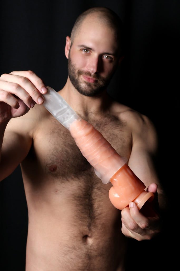 PerfectFit Real Boy Realistic Dildo Kit Clear VAT7