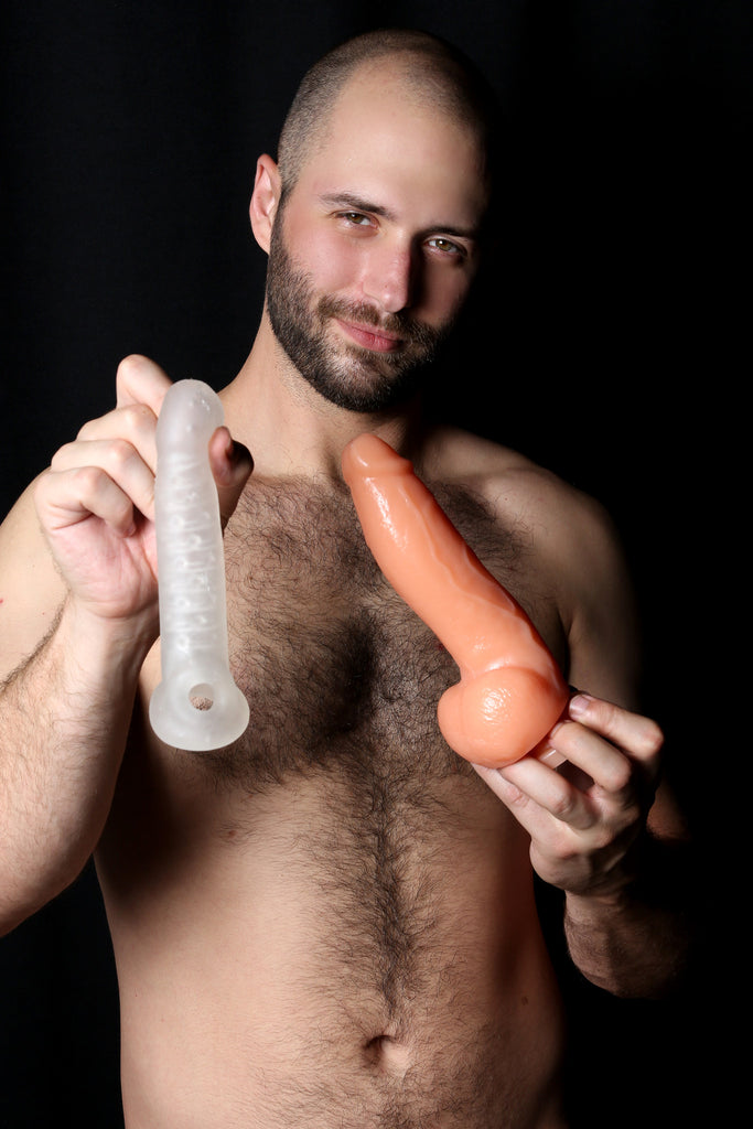 PerfectFit Real Boy Realistic Dildo Kit Clear VAT8