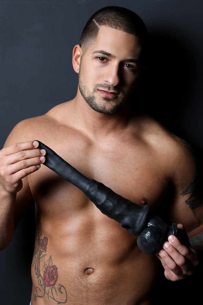 PerfectFit Real Boy Realistic Dildo Kit Black VAT5