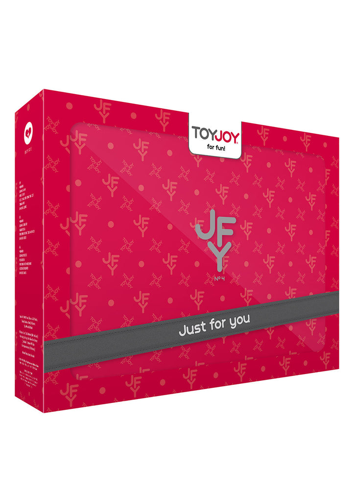 Toy Joy JFY Luxe Box No 4 Bondage Kit Red VAT3