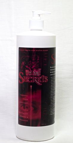 Wet Stuff Secrets Silicon Based Lube 1kg