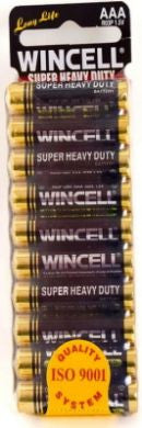 Wincell Super Heavy Duty AAA Shrink 12x10Pk Battery