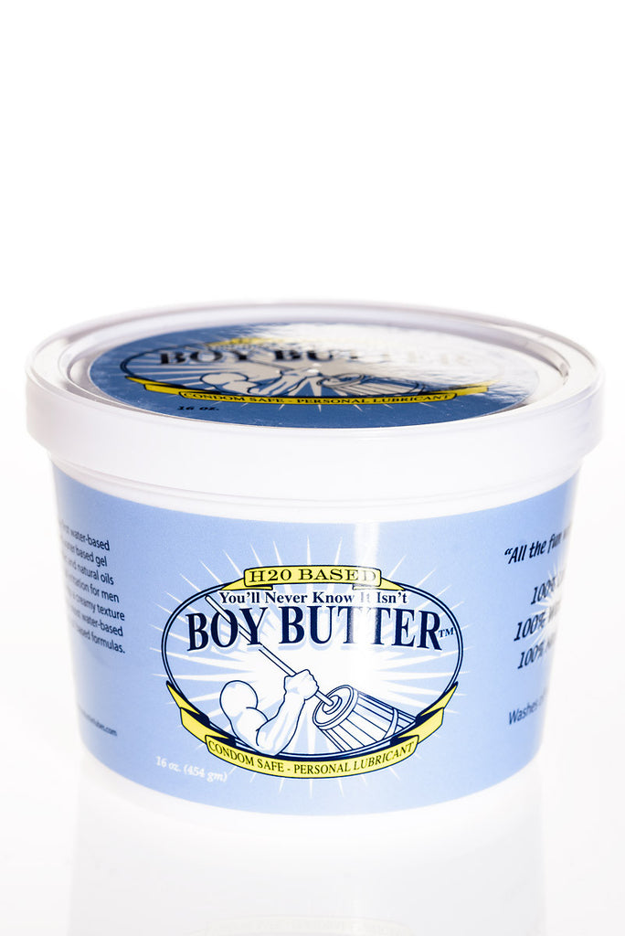 Boy Butter H2O Water Based Lube 16oz Tub
