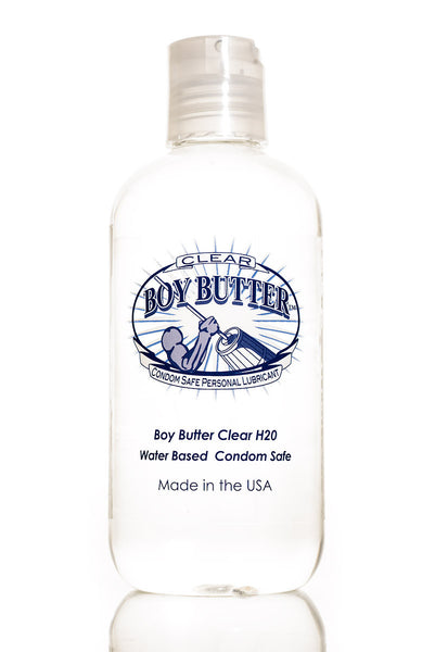 Boy Butter Clear Water Based Lube 2oz