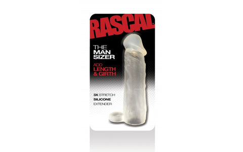 Rascal The ManSizer Penis Extension Clear VAT1