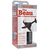Vac-U-Lock Platinum Edition - The Beau with Supreme Harness - Purple