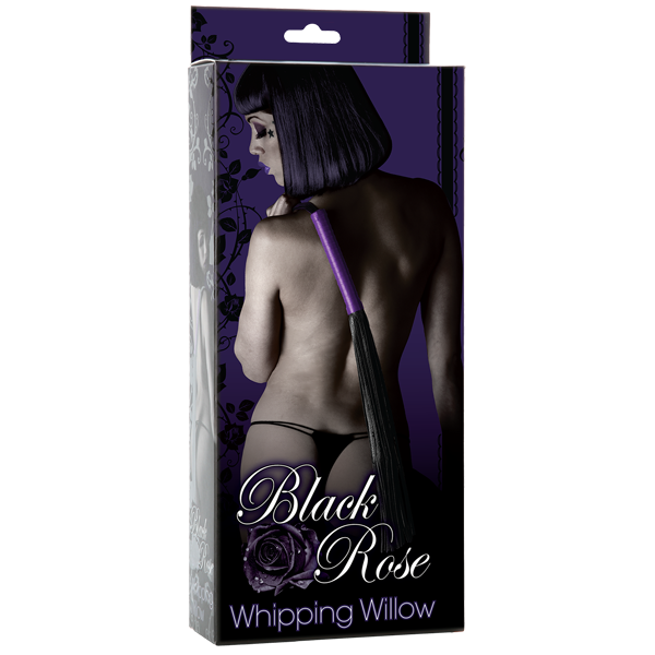 Doc Johnson Black Rose Whipping Willow- VAT