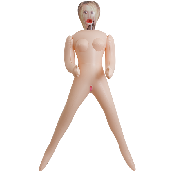 Doc Johnson Vivid Superstar Jenna 3-Hole Doll with Realistic Face- VAT5