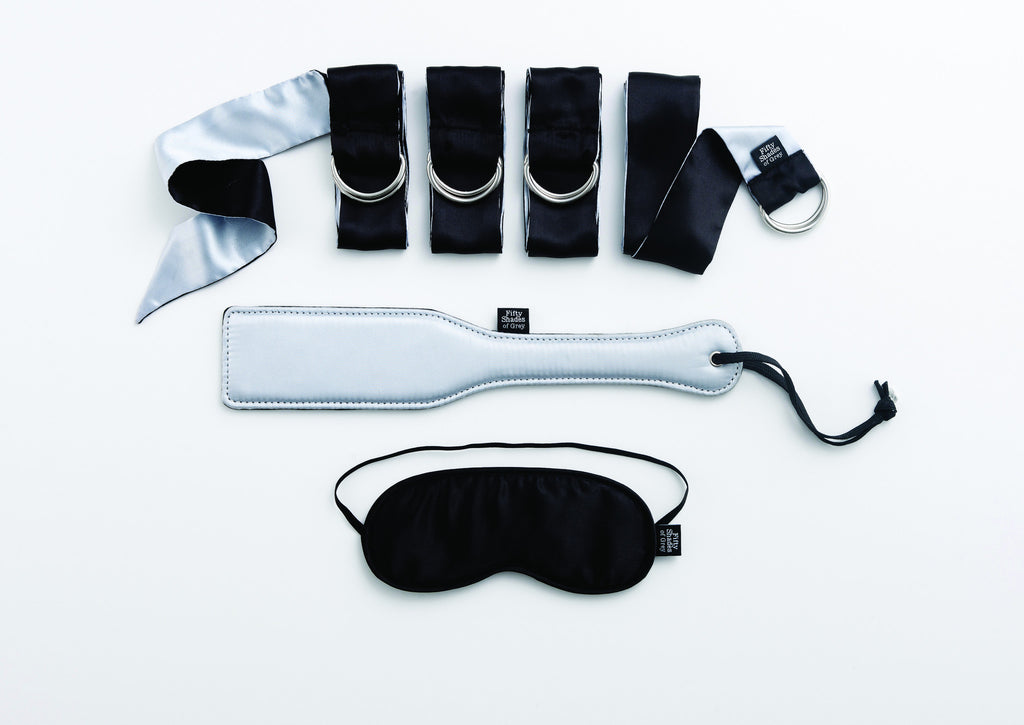 Fifty Shades of Grey Bondage Kit for First Time Users