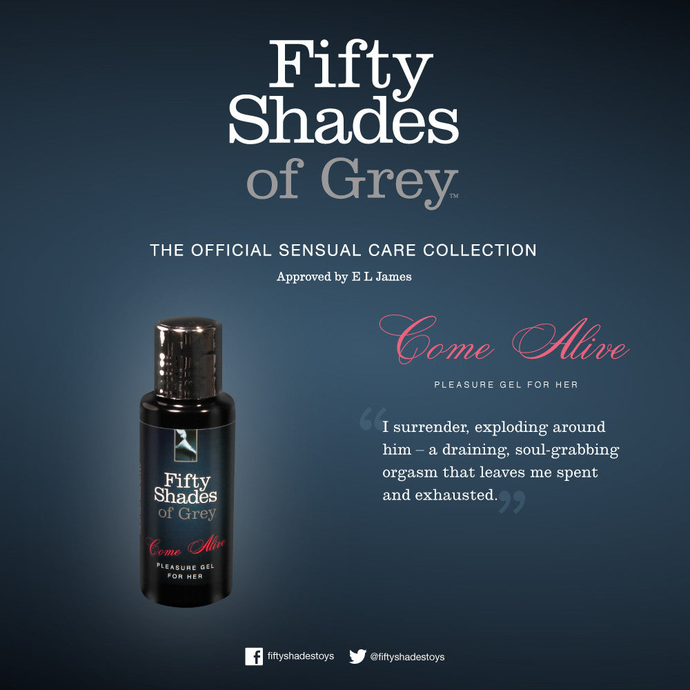 Fifty Shades of Grey Gel For Her Come Alive Sexual Stimulant