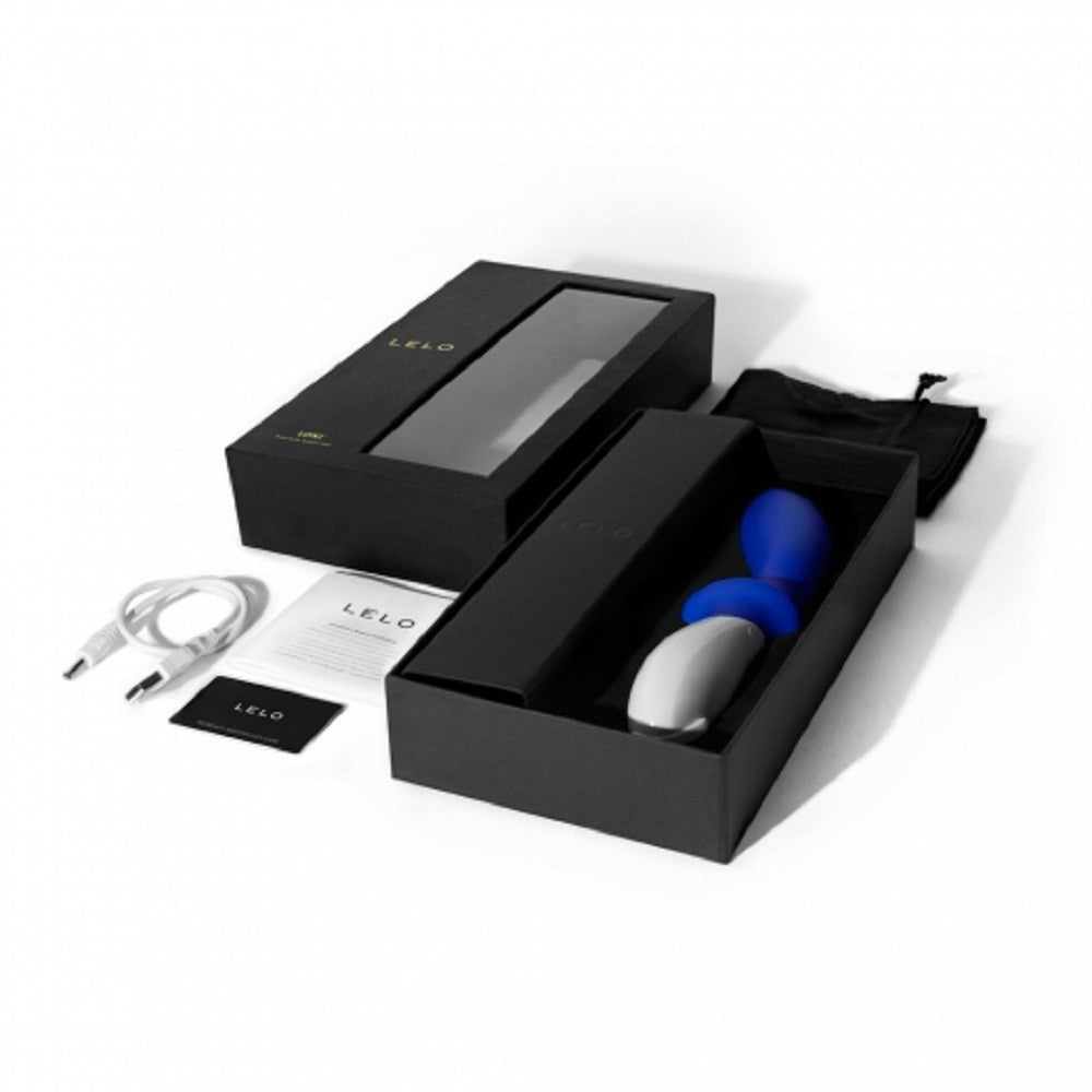 Lelo- Loki World's Strongest Prostate Massager! Blue in Package Box -VAT