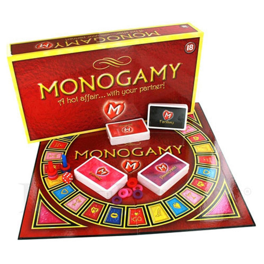 VAT Monogamy Adult Board Game - display of content