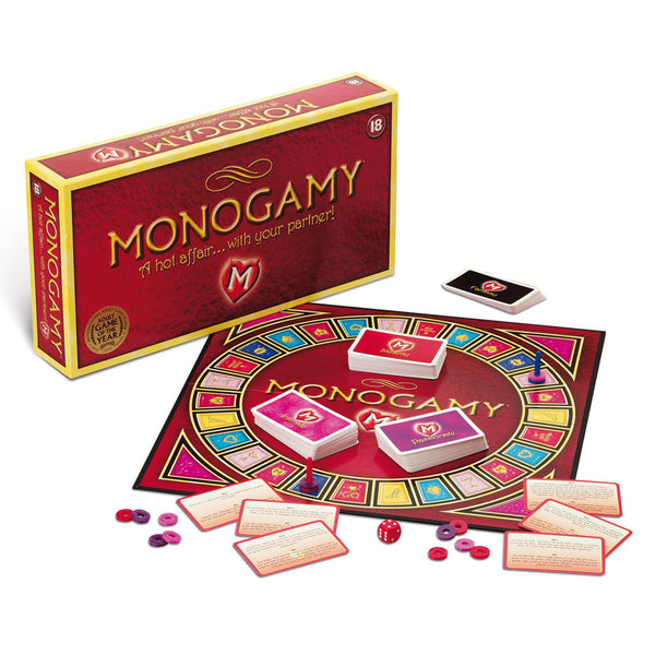 VAT Monogamy Adult Board Game -  full display of content