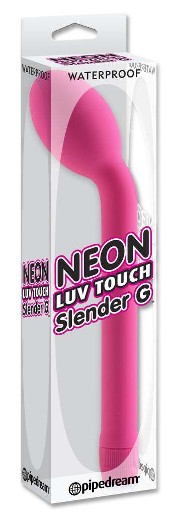 PipeDream Neon Luv Touch Waterproof Slender G- VAT