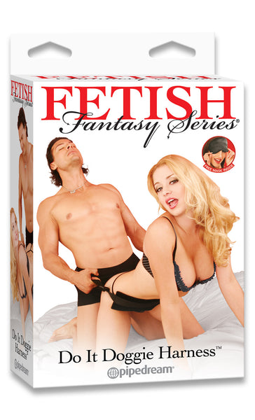 PipeDream Fetish Fantasy Do It Doggie Harness- VAT