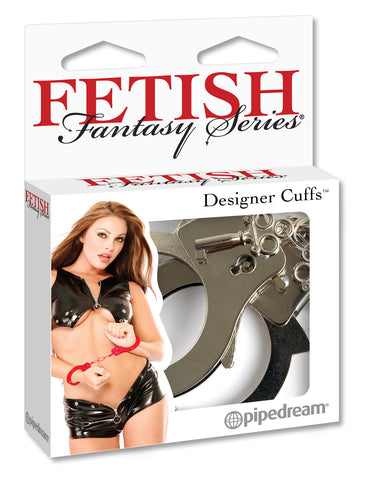 PipeDream Fetish Fantasy Designer Cuffs Silver- VAT