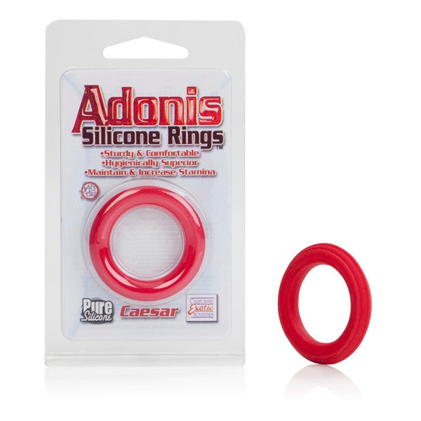 California Exotic Novelties Adonis Silicone Ring Caesar- VAT
