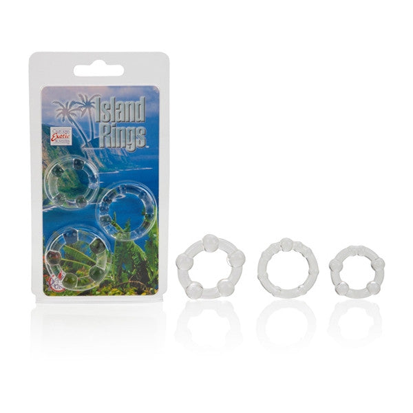 California Exotic Novelties Silicone Island Rings- VAT
