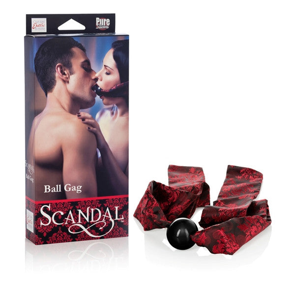 California Exotic Novelties Scandal Ball Gag- VAT